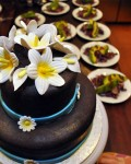 Wedding Cake At Laguna Apoyo